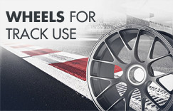Wheels for Track Use